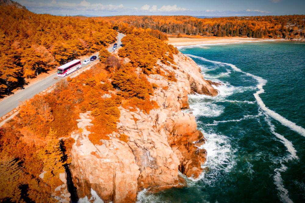 New England's Coastal Route