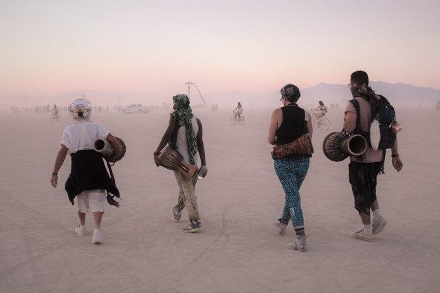 Burning Man Festival: #influencersgohome