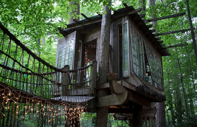 treehouse in Georgia