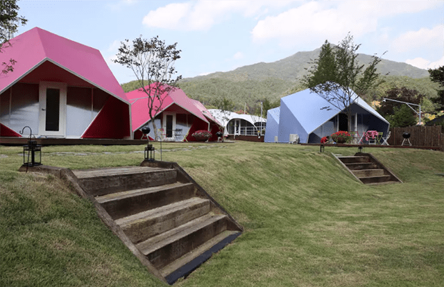 Unique Airbnb Glamping Experiences South Korea
