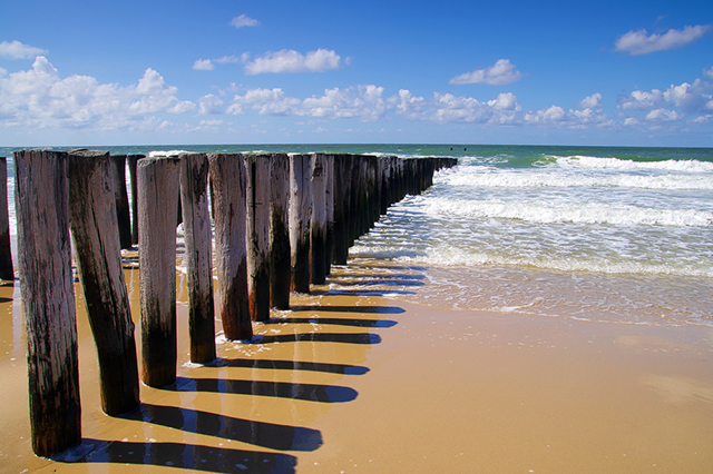 Domburg Beach Netherlands