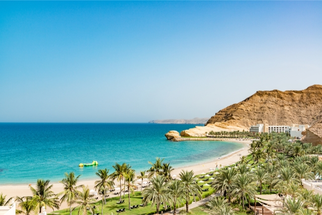 best beaches in oman