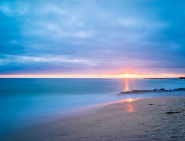 Beaches in california Laguna Beach