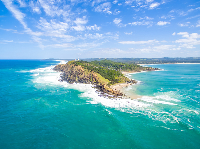 Main Beach Byron Bay Australia