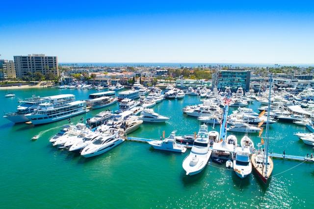 Newport Beach in california