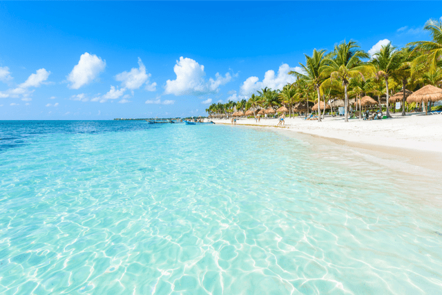beaches in mexico Playa Del Carmen