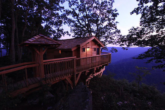 treehouse in Virginia