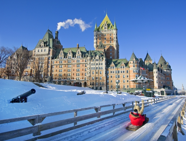 solo travel over the holidays Quebec