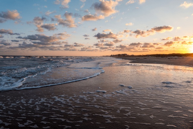 beaches in Texas Surfside Beach