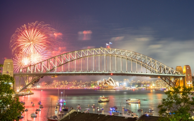 New Year's celebration Sydney