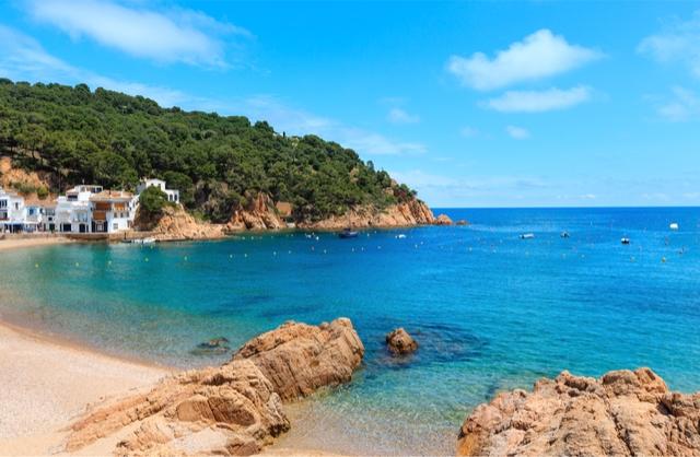 Tamariu Spain beach