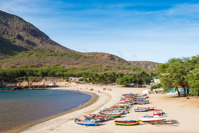 Tarrafal Beach Cape Verde