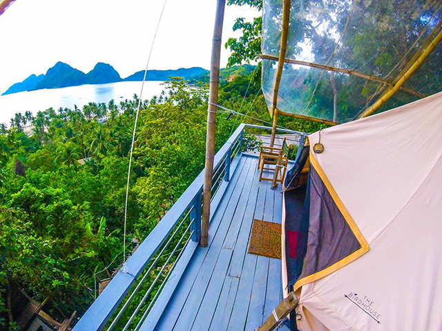 glamping in the Philippines