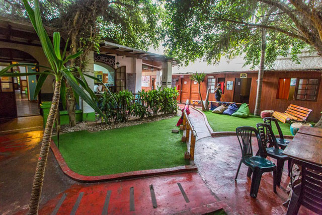 hostels in South America
