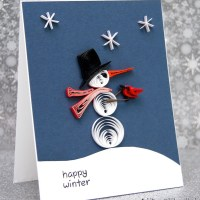 Christmas Card Challenges #11: Snowman