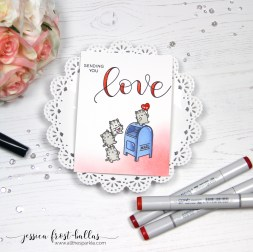 Sending You Love by Jessica Frost-Ballas for Simon Says Stamp