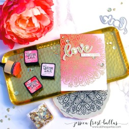 Love is All We Need by Jessica Frost-Ballas for Simon Says Stamp