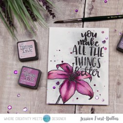 You Make All the Things Better by Jessica Frost-Ballas for Where Creativity Meets C9