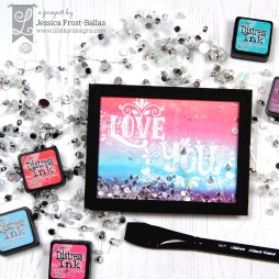 Love You by Jessica Frost-Ballas for Lil' Inker Designs