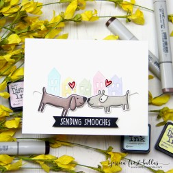 Sending Smooches by Jessica Frost-Ballas for Ellen Hutson