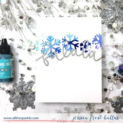 Diecember 2017 by Jessica Frost-Ballas for Simon Says Stamp
