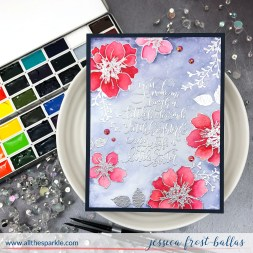Hello Beautiful by Jessica Frost-Ballas for Gina K Designs
