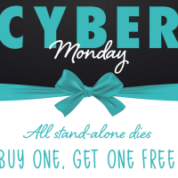 Happy Cyber Monday and a huge BOGO sale at Honey Bee Stamps!
