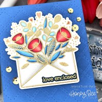 VIDEO: Heat Embossing with Copic Coloring - Honey Bee Stamps
