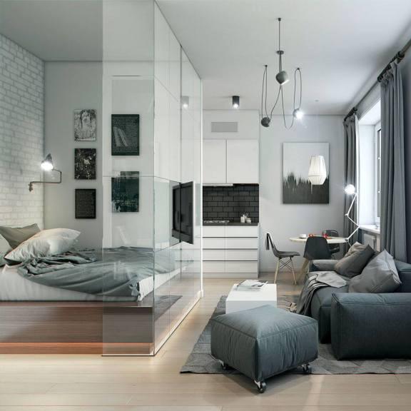 Beautiful studio apartments | allthestufficareabout.com