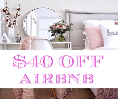 40off airbnb