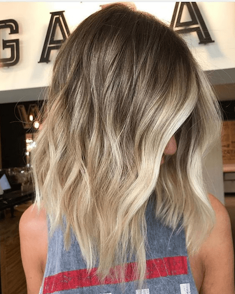 Ideas To Go Blonde Long Warm Balayage
