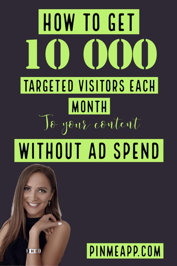 get 10k visitors no adspend