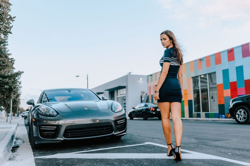 wynwood miami porshe panamera photoshoot ideas angel wings