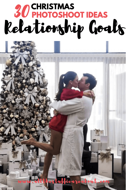 winter christmas photoshoot ideas