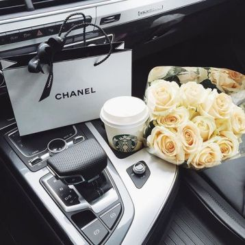 chanel flowers car