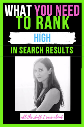 why rank high in search results habbits of successful people allthestufficareabout life business tips productivity