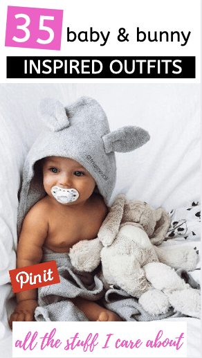 bunny baby photoshoot ideas