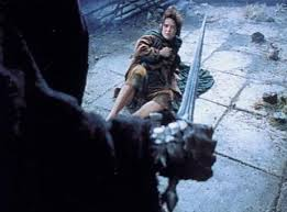 Image result for frodo being stabbed