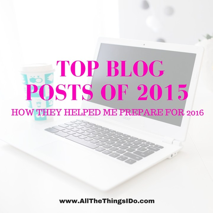 Top Ten Posts of 2015 & How They Helped Me Prepare For 2016