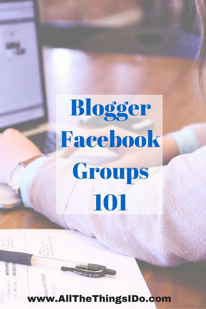 Blogger Facebook Groups 101