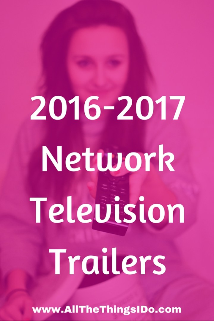 2016-2017 Network Television Trailers