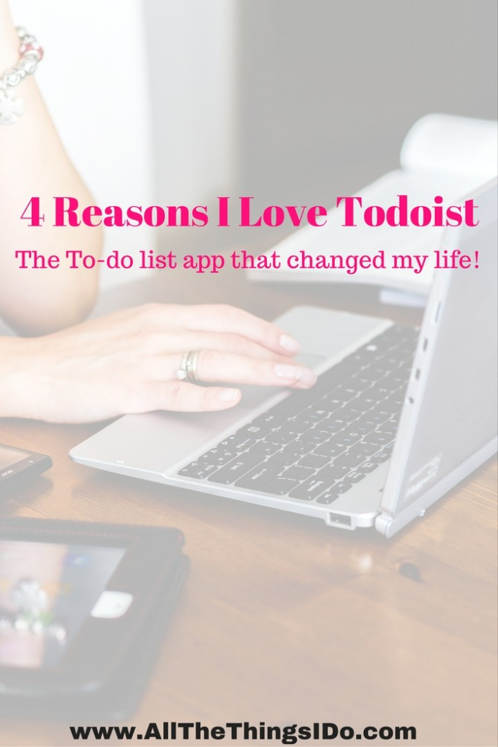 4 Reasons I Love Todoist