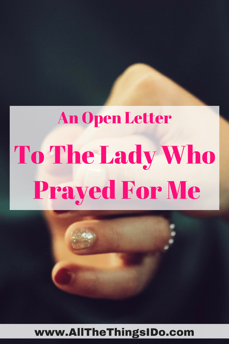 Open letters to strangers