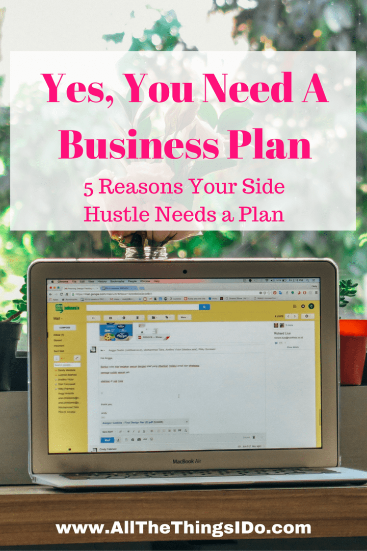 Yes, You Need A Business Plan