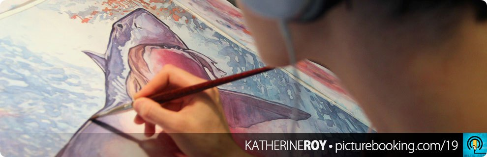 Picturebooking with Katherine Roy