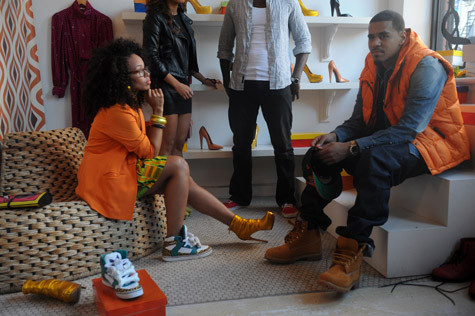 J Cole And Bria Music Video: Elle Varn...