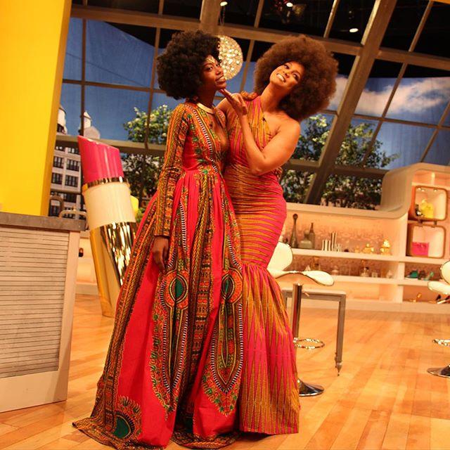 Tyra Banks Clothing Line: TV Show: Kyemah McEntyre Designs A Dress For Tyra Banks On