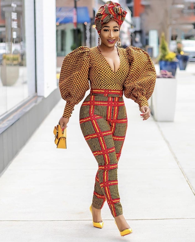 Top 20 Latest Ankara Styles Designs 2019: Ankara Street Style Of The Day: ChicAma In Kenia Nunez Designs
