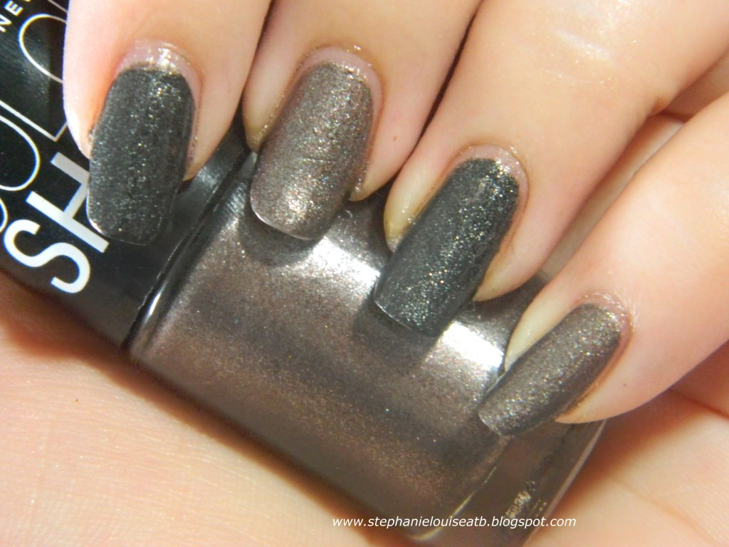 Dupes?: Maybelline Metal Icon & China Glaze Stone Cold Swatches