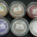 Original Maybelline Color Tattoo Swatches & Review